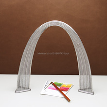 FREE SHIPMENT J34 ST.LOUIS GATEWAY ARCH STATUES/MODEL STAINLESS HAND-MADE ART CRAFTS WEDDING&BIRTHDAY&HOME&OFFICE&GIFT&PRESENT