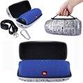 Descontos promocionais De Viagem Carry Speaker Caso Capa Protetora Bag Bolsa Para JBL Cobrar 3/Charge3 Falante Sem Fio Bluetooth