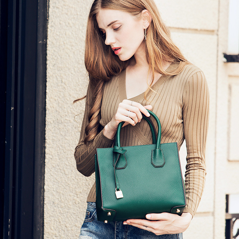 цены на CHARMIYI New Genuine Leather Women Handbags Fashion Original Top-Handle Bag Designer Female Shoulder bags Messenger Satchel Tote в интернет-магазинах