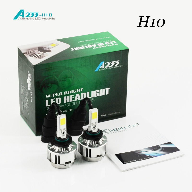 2018 Sale Hot Sale Car Headlight H10 H7/h8 / H9 H11/ Hb4 /9006 H1 Bulb Before Auto 66 W/ 6000lm Flagship Cars6000k 4300k