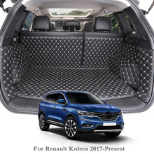 купить For Renault Koleos 2017-Present Car Boot Mat Rear Trunk Liner Cargo Floor Carpet Tray Protector Internal Accessories Mats по цене 7919.11 рублей