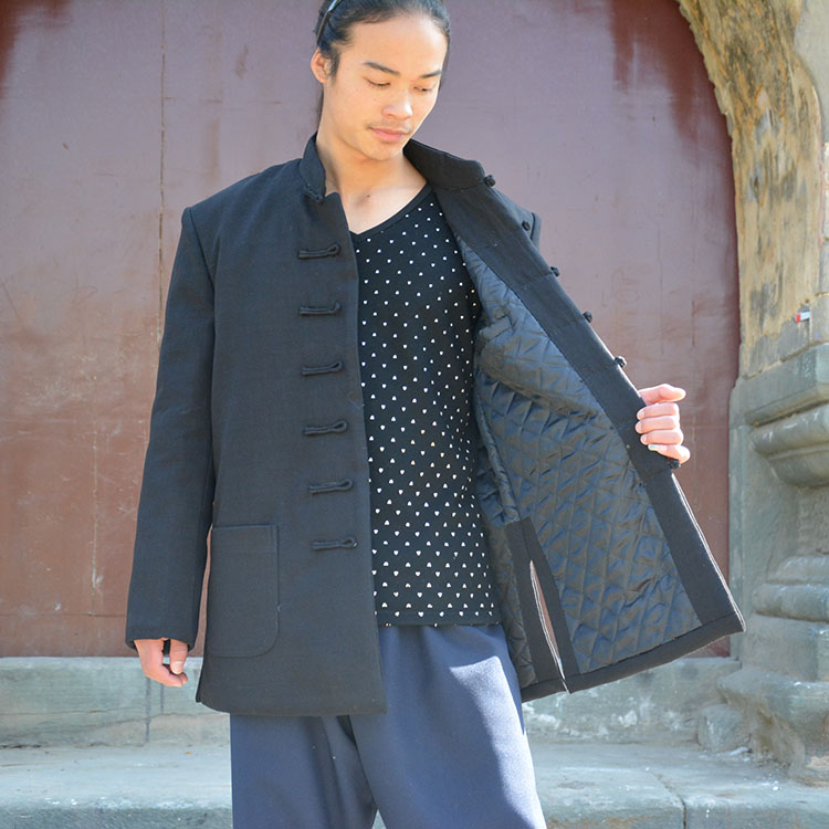 Wudang Daoist Tai Ji Winter Robe 3