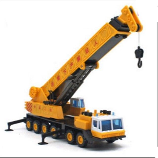 Новый бренд кран модель автомобиля масштаб 1:43 ABS Сплава литья под давлением 12 колес грузовика модель стрелы крана модель инженер машина автомобиль игрушка