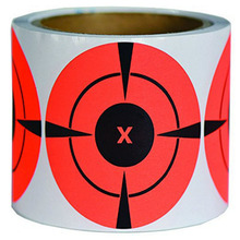 """Target Stickers Self Adhesive Targets (Qty 250pcs 3"""")for Shooting Firearms Targets Highest Quality Adhesive Shooting Targets"""