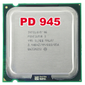 intel Pentium Processor CPU PD 945 PD945 intel (3.4Ghz/ 4M /800GHz) Socket 775