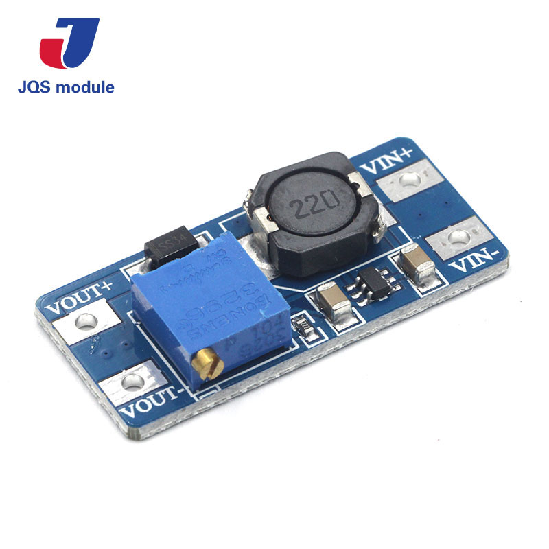 1PCS MT3608 DC-DC Step Up Converter Booster Power Supply Module Boost Step-up Board MAX output 28V 2A For Arduino wholesale 1pcs dc dc step up converter boost 2a power supply module in 2v 24v to out 5v 28v adjustable regulator board dropship