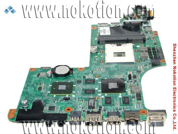 NOKOTION 605320-001 for HP DV7 DV7-4000 series motherboard INTEL HM55 HD 5650 DDR3 Mainboard 605320 001 free shipping original laptop mainboard 615307 001 for hp pavilion dv7 dv7 4000 motherboard da0lx6mb6h1