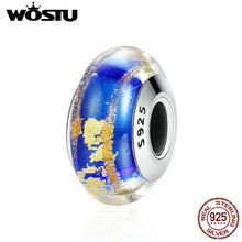 bcbe123af ... WOSTU New Style 925 Sterling Silver Murano Glass Beads Fit Original pandora  Charm Bracelet DIY Jewelry ...