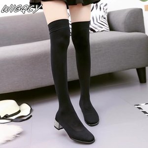 2019 women boots winter fashio
