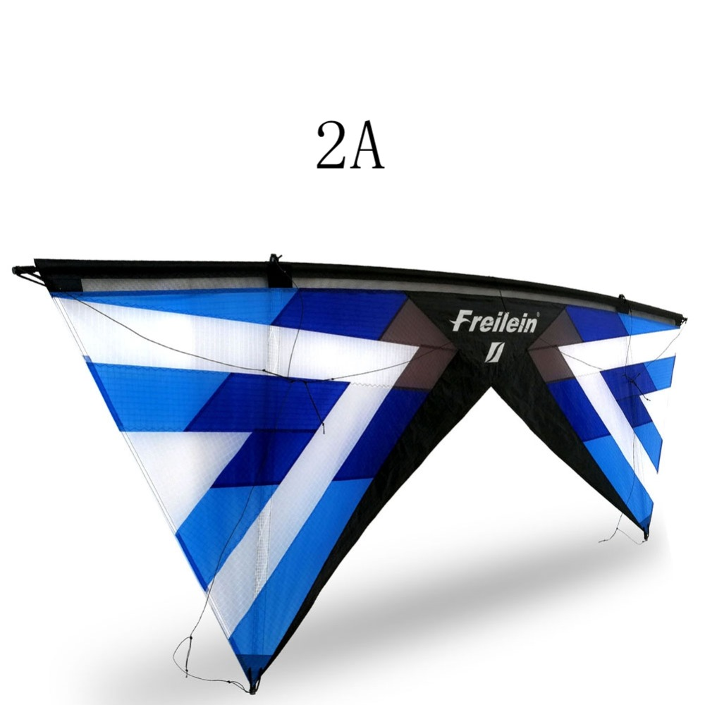 2.42M Professional Quad Line Stunt Kite Stronger Wind Flying Outdoor Sport Kite For Beach Park Camping Festival Show Play freilein windrider quad line stunt kite set outdoor power kite flying handles kite line string for competition show