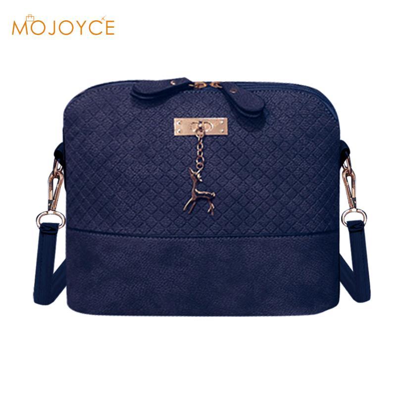 2017 Women Messenger Bags Fashion Mini Bag With Deer Toy Shell Shape Bag Women Shoulder Crossbody