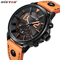 RISTOS Male Fashion Casual Watch Mens Watches Top Brand Luxury Waterproof Military Quartz Wrist Watch Relogio Masculino 93001