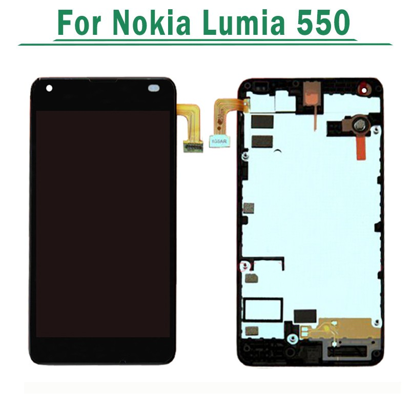 lumia 550 LCD With Frame