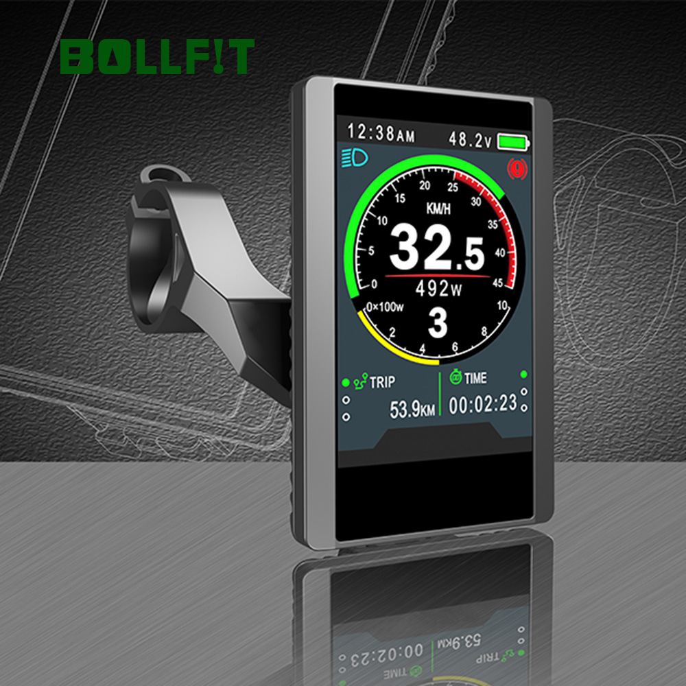 Bollfit Bafang lcd дисплей 850C цветной экран TFT Midmotor Kit BBS02 BBS01 BBSHD