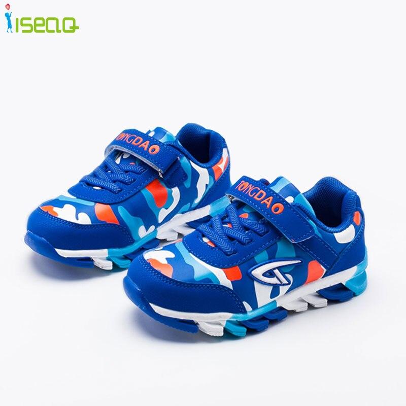 sports shoes 279ec ddac9 US $13.16 24% di SCONTO|4 14 anni ragazzi camuffamento scarpe da ginnastica  traspirante Casual scarpe Scarpa Da Tennis Per Bambini Scarpe Sportive ...