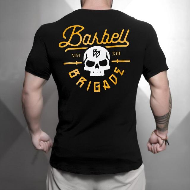 BARBEL BRIGADE SKULL T-SHIRT (4 VARIAN)