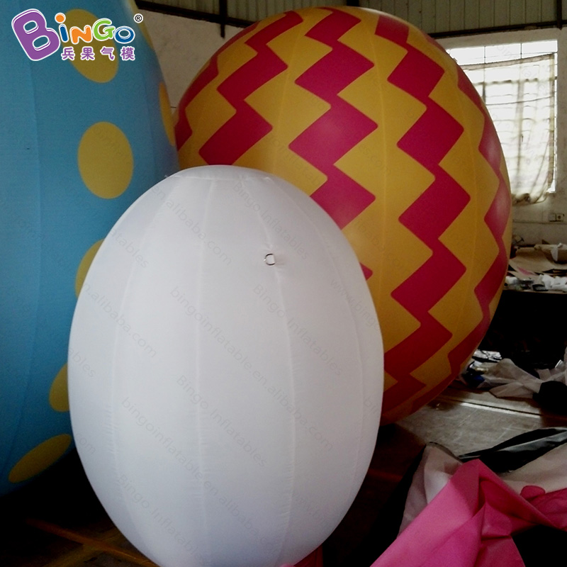 Promotional 3M high large inflatable Easter egg customized giant blow up colorful egg replica with motor toys funny summer inflatable water games inflatable bounce water slide with stairs and blowers