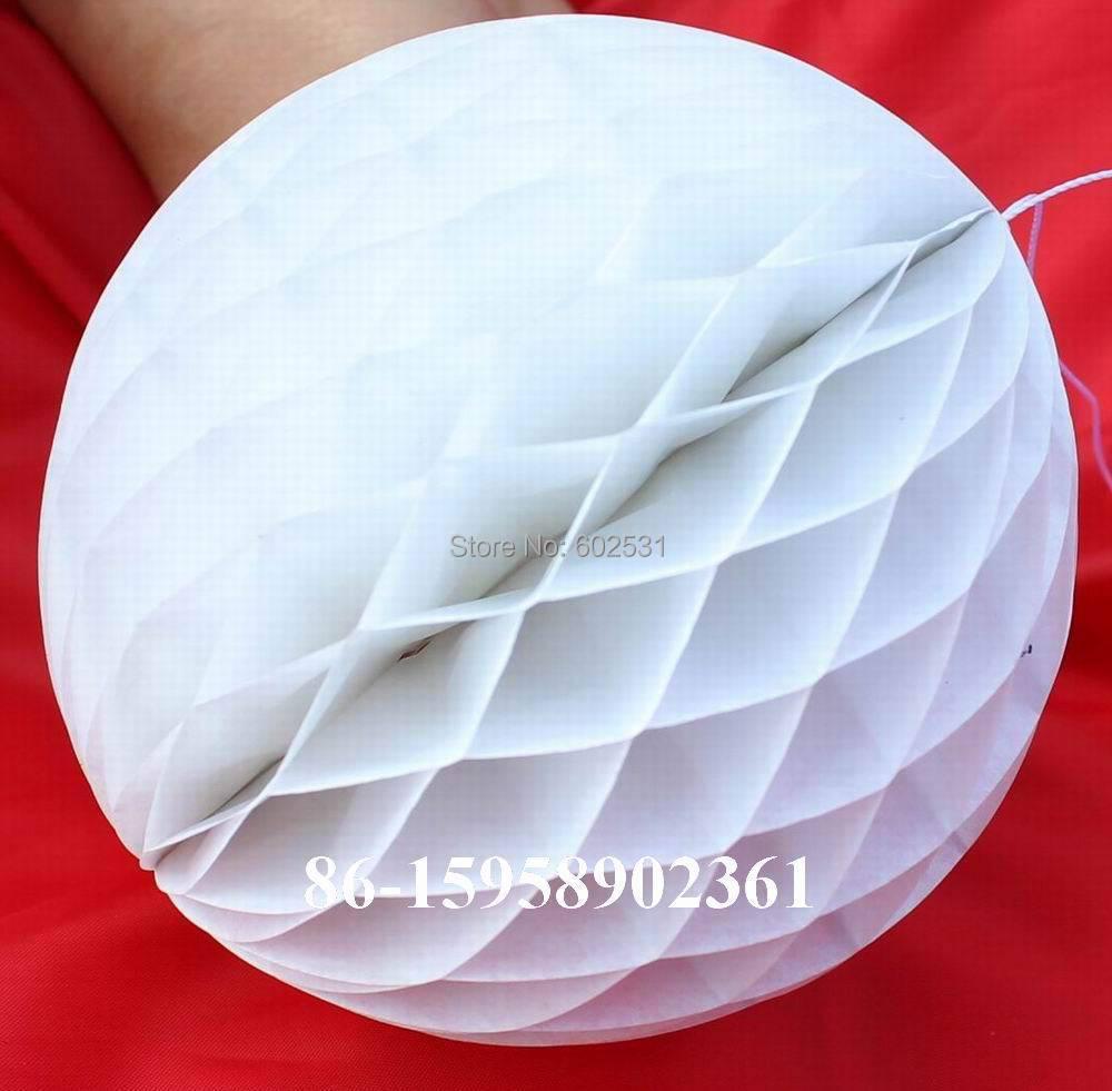 Moda Clavo de nido de abeja bola linterna decoraciones de la boda SPR - Para fiestas y celebraciones - foto 5