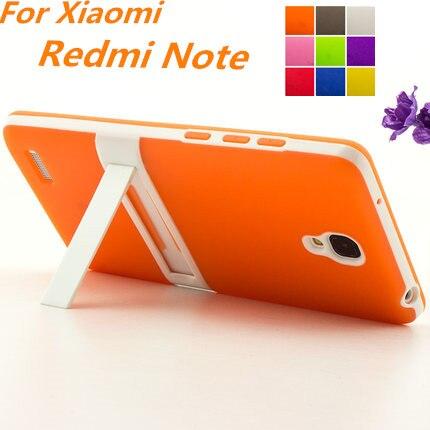 Ultra-thin PC Frame pencil TPU Cover Silicon Case For Xiaomi Redmi Note LTE 4G Matte Feel For Xiaomi</