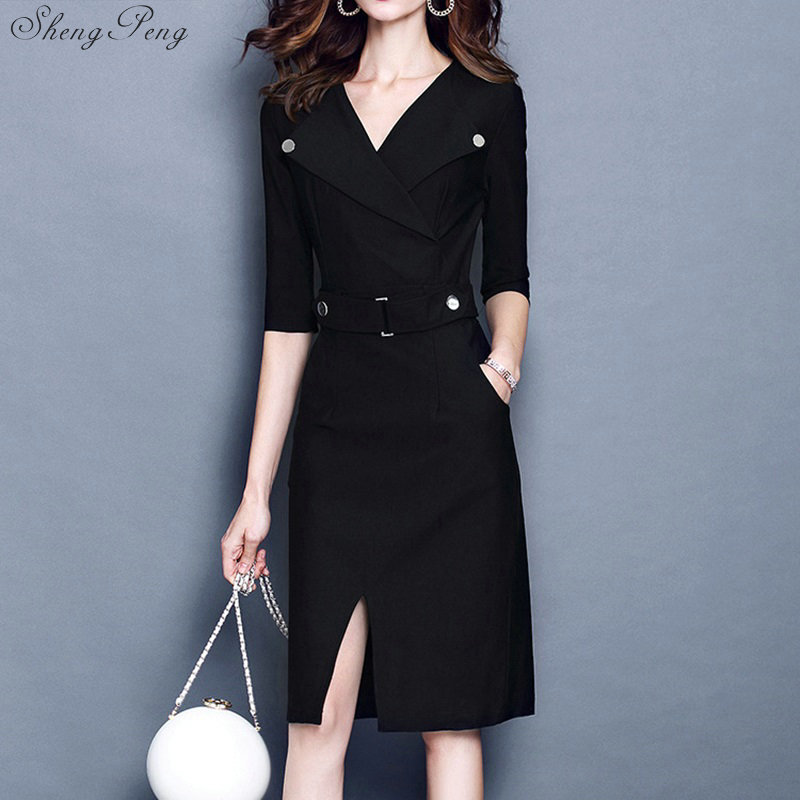 women business suits office uniform designs women business dress for women office sundresses womens summer spring V683