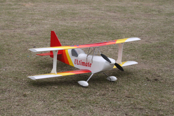 US $148 0 |rc balsa wood plane ULTIMATE Biplane kit electric rc model plane  electric version in rc balsa wood plane ULTIMATE Biplane kit electric rc