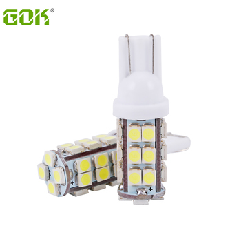 100pcs High quality T10 W5W 194 168 Car LED t10 28Led smd 3528 1210 LED Wedge Auto Light Bulb T10 28SMD Led Clearance Light