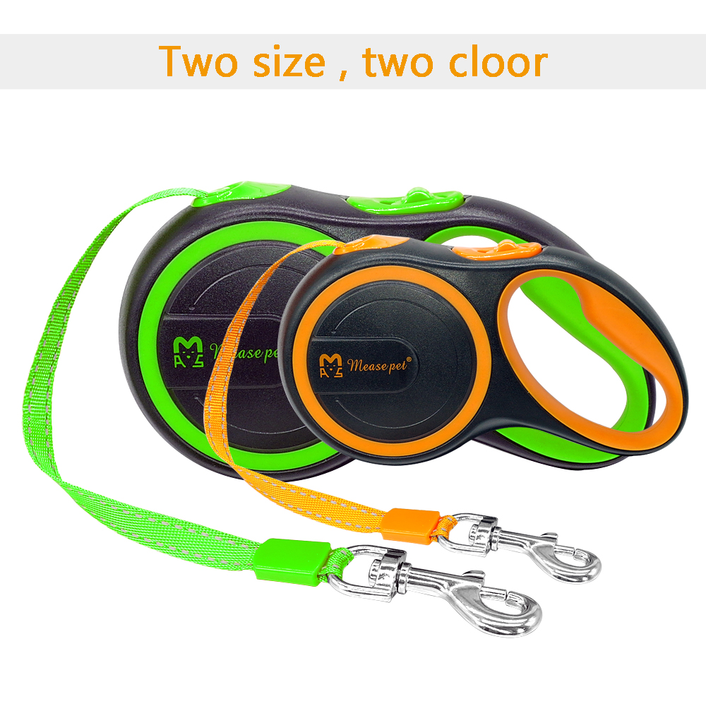 16ft Retractable Dog Leash Extending Reflective Dogs Leashes Austomatic Puppy Walking Leads 3M 5M For Small Medium Pet 21