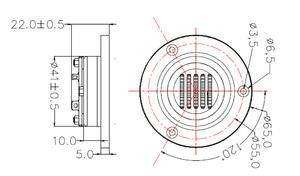 Image 5 - 2 PCS/LOT 2.5 INCH HiFi aluminum AMT air motion tweeter with KAPTON Diaphragm and Conductive Line Material Aluminum foil