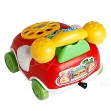 1 Шт. Baby Toys Музыка Мультфильм Телефон Обучающие Развивающие Детские Игрушки Подарок Новый A18187