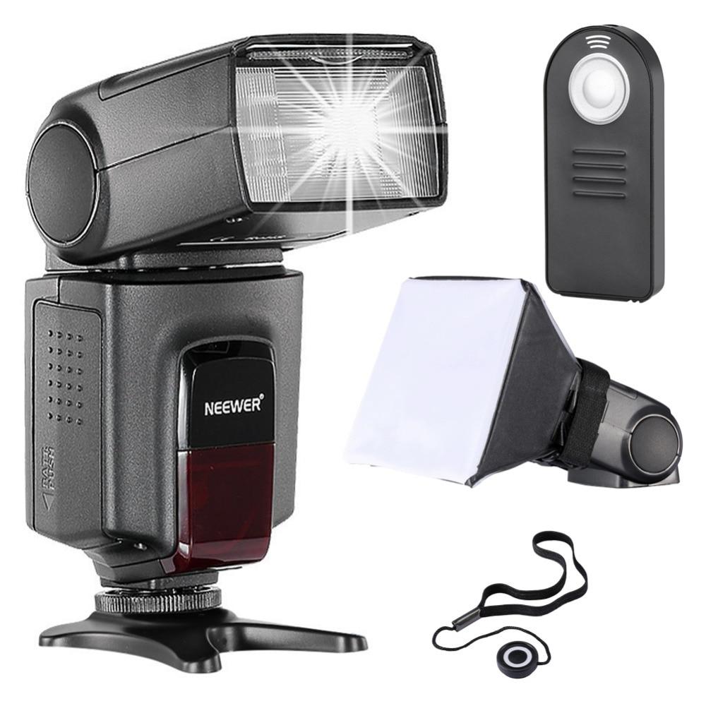 Neewer TT560 Flash Speedlite Kit for Canon Nikon Sony Pentax DSLR Cameras with standard Hot Shoe TT560 Flash Remote Control etc вспышка для фотокамеры godox tt560 speedlite dslr