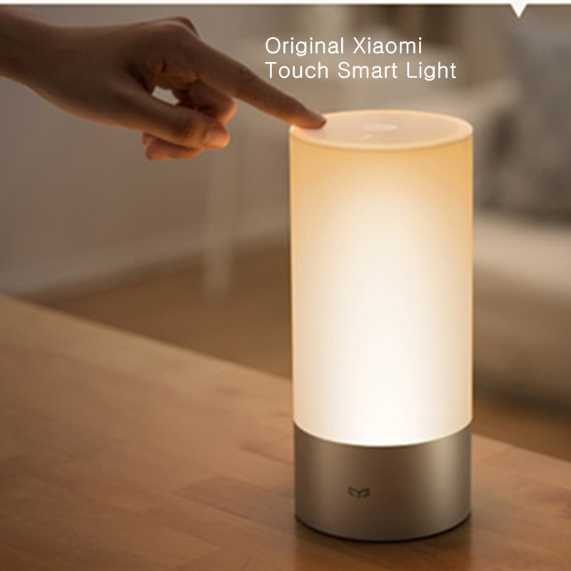 Newest Cool Original Xiaomi Yeelight Indoor Night Light Smart Bed Lamp 16 Million Rgb Touch Control