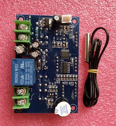 1 pcs dc12v thermostat intelligent thermostat numerique regulateur de temperature avec capteur. Black Bedroom Furniture Sets. Home Design Ideas