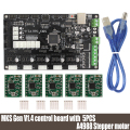 3D Printer Parts MKS Gen V1.4 Control Board Mega 2560 R3 Motherboard RepRap Ramps1.4 Compatible with USB and 5PCS A4988
