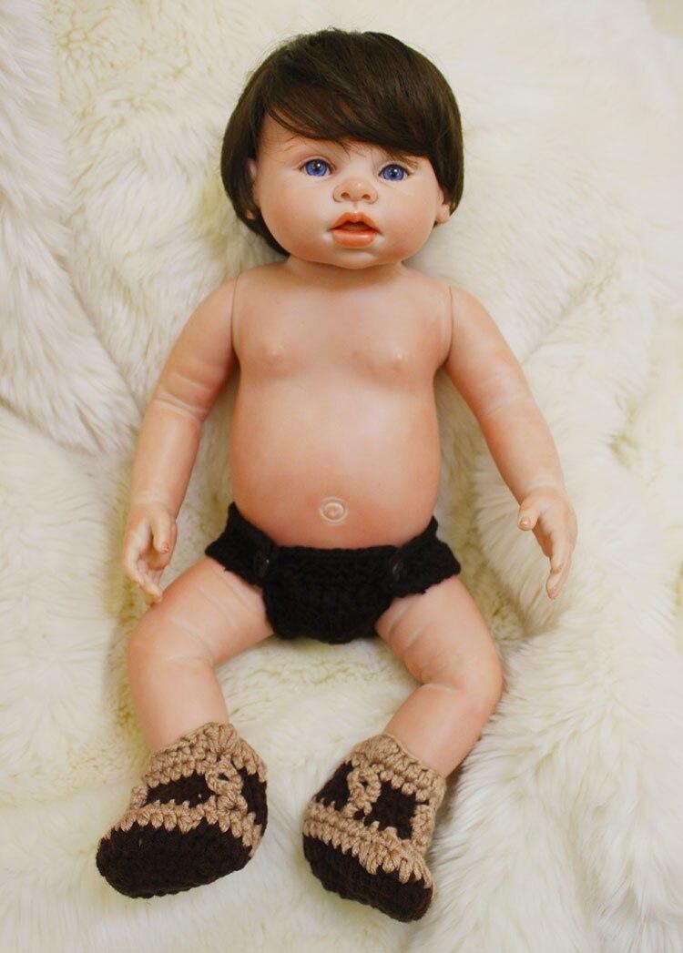 43 cm Full Body Silicone Reborn Baby Doll Toy 22 inch Newborn Bebe Ragazzo Bambini Bambola di Natale Regalo Di Compleanno Bambino bagno Toy43 cm Full Body Silicone Reborn Baby Doll Toy 22 inch Newborn Bebe Ragazzo Bambini Bambola di Natale Regalo Di Compleanno Bambino bagno Toy