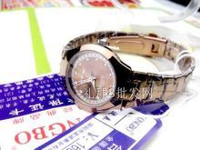 Longbo бренд женщин горный хрусталь часы кофе кварцевые мода платье часы бизнес класс 30 м водонепроницаемый леди подарочные наручные часы
