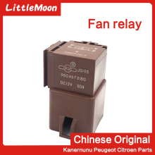 цена на LittleMoon Original brand new fan relay Fan resistor Electronic fan relay for Peugeot 407 508 301 2008 Citroen C5 C3 C4