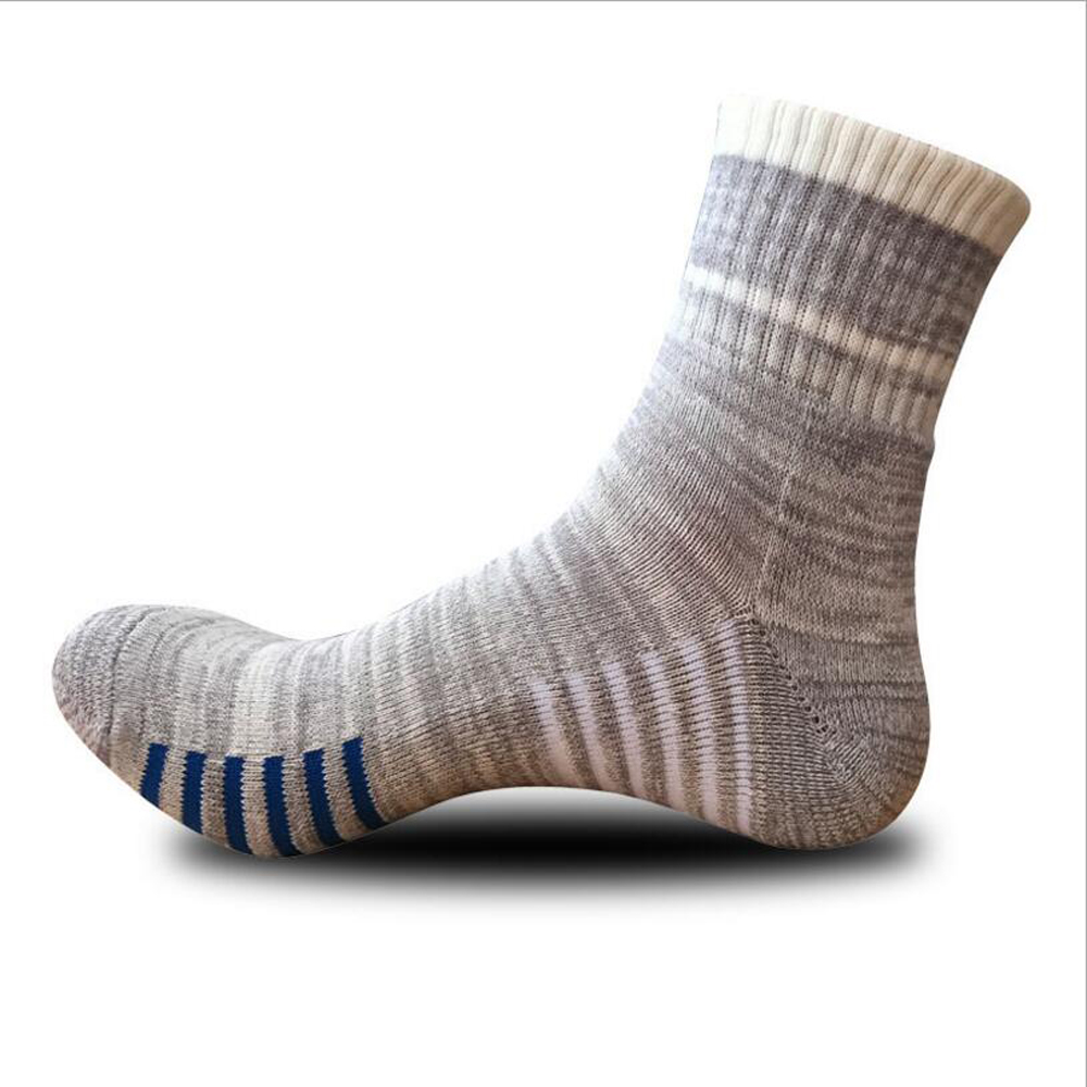 CHENG HENG 5 Pairs/bag High-quality Autumn And Winter New Mens Socks Soles Thickened Casual Socks Men Middle Tube Socks