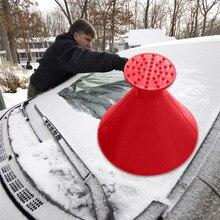 3в1 дропшиппинг автомобильные аксессуары волшебное авто стекло лобовое стекло Очистка окон автомобиля конусный инструмент в форме лобового стекла скребок для льда лопата для снега