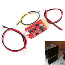 CT14 Micro 4.2 Stereo Bluetooth Power Amplifier Board Module 5VF 5W+5W Mini with Charging Port for refitting the idle sound box