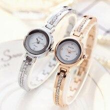 Moda Mujer 2019 JW Luxury Gold Watch Clock Women Diamond Crystal Jewelry Bracelet Wrist Watches Ladies Quartz Watch Horloge