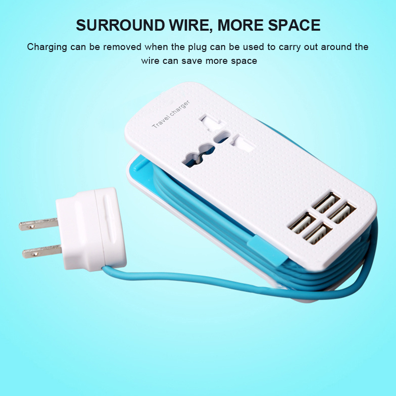 high power wiring plug multifunction usb socket 4 port usb travelhigh power wiring plug multifunction usb socket 4 port usb travel fast charger for samsung galaxy s7 s6 edge,lg, xiaomi, iphone in chargers from consumer