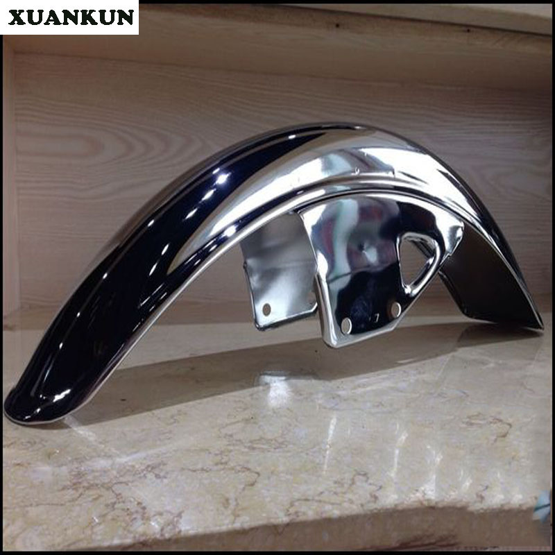 XUANKUN Vintage Motorcycle Modified GN Height Before And After The Mud Board Mud Plating стоимость