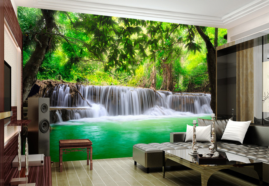 Papel pintado hacer dinero paisaje 3d tel n de fondo for Software decoracion interiores 3d gratis