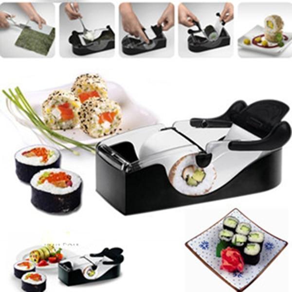 DIY Sushi Roller Cutter Machine Gadgets Kuchyňské nářadí Perfect - Kuchyně, jídelna a bar