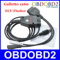 Venda quente Galletto 1260 ECU Flasher OBD2 ECU Tuning Chip ferramenta de Scanner EOBD 1260 Programador Ler e Escrever ECU Do Carro Multi línguas