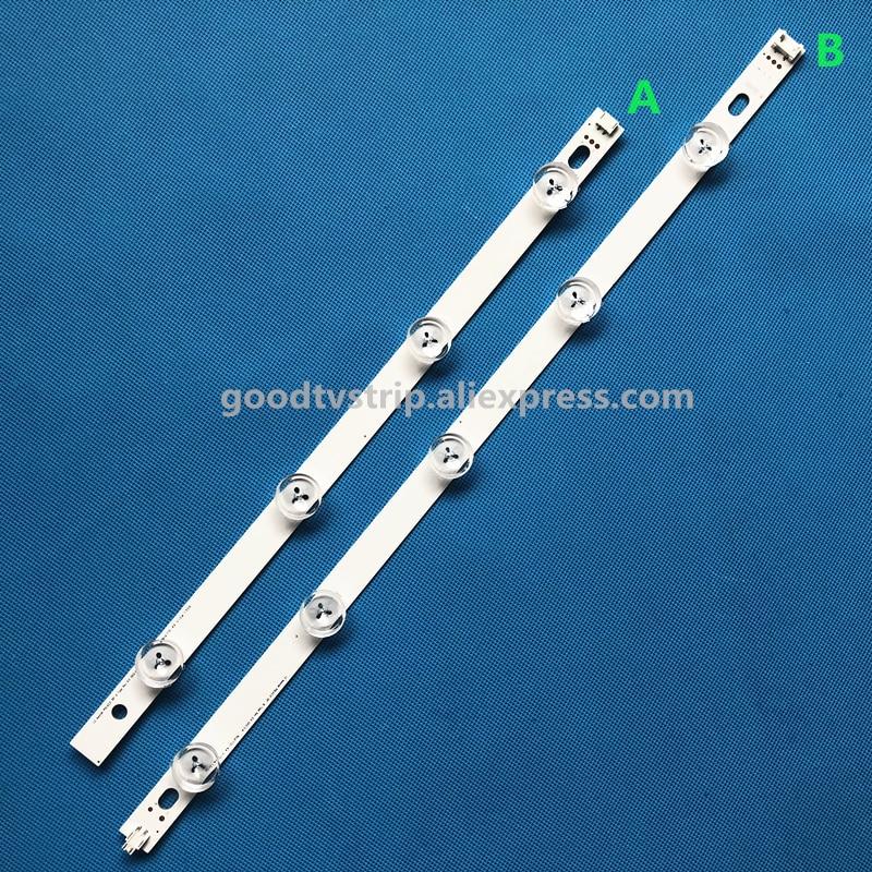 Led Lighting Professional Sale 2pcs 1a+1b Backlight Lamp Strip 9leds For Lg 39 Tv Lg 39ln5100 Inn0tek Pola2.0 39 39ln5300 Pola 2.0 M4mb17c1 Hc390dun-vcfp1 Making Things Convenient For The People