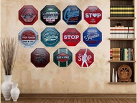 Vintage Metal Tin Signs Garage Since 1982 Hanging Poster Rustic Wall Plaque Garage Cafe Bar Home