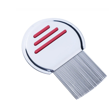 1 Pcs Pet Stainless Steel Lice Comb Flea Fine-tooth grooming combing needle combs Brush Cats and dogs plain weave Supplies
