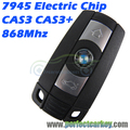 KR55WK49127 868 Mhz 7945 electric board CAS3 CAS3+ system car smart key auto smart card for BMW 3series 5 series