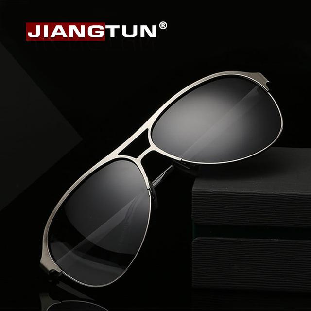 Jiangtun liga polarized óculos de sol new 2017 verão estilo retro óculos de sol óculos de sol marca designer gafas de sol de peso leve